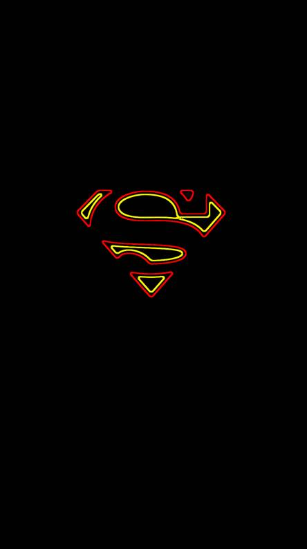 Superman Wallpapers SUPERMAN NEON