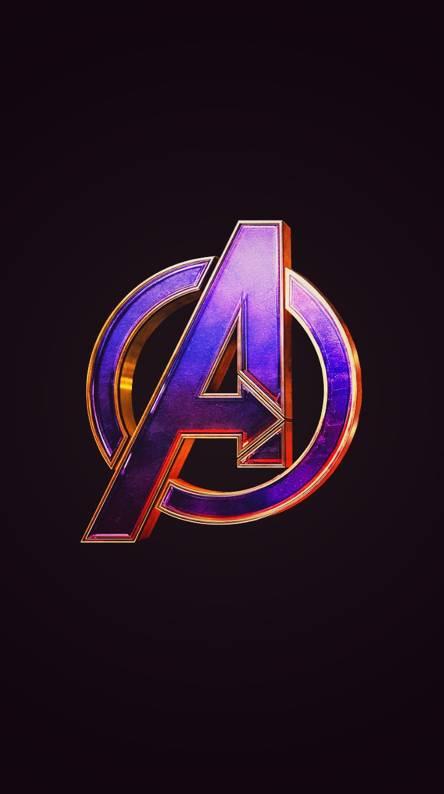 Avengers logo wallpapers free by zedge - Avengers symbol wallpaper ...