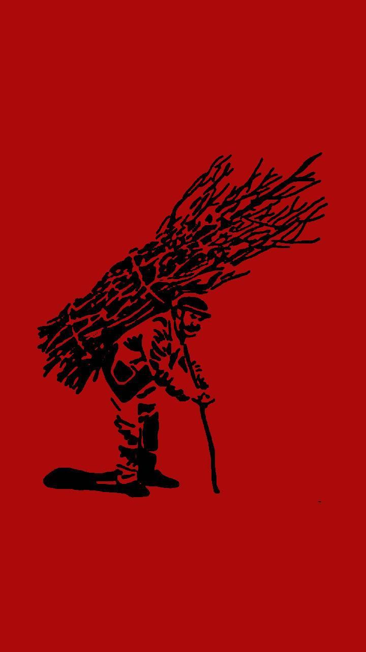 Sticks Guy Red