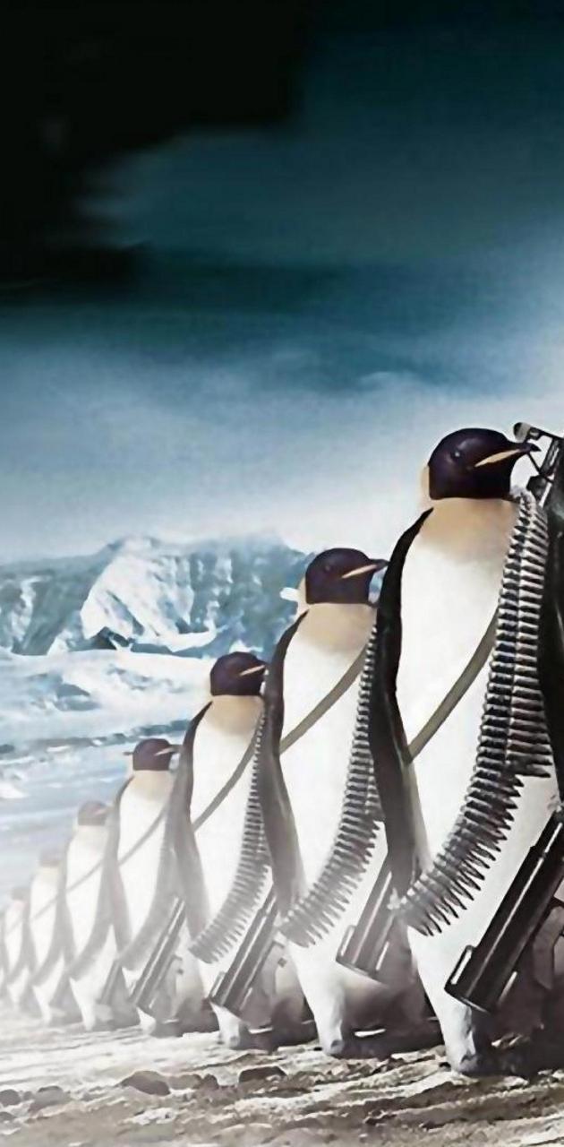 penguines army