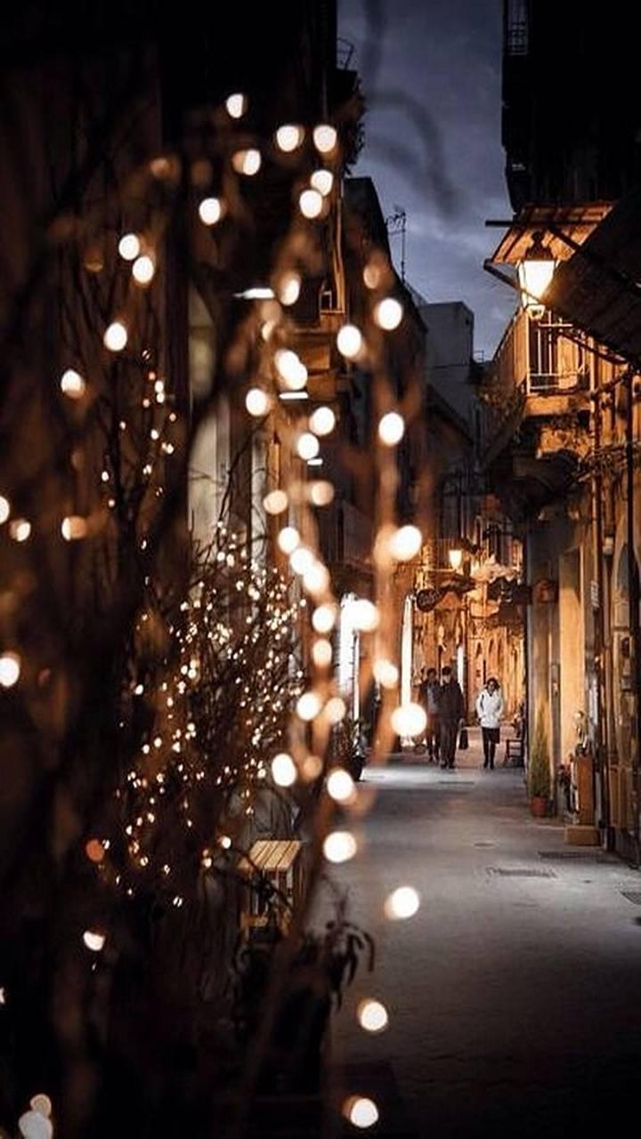 Luzes na cidade