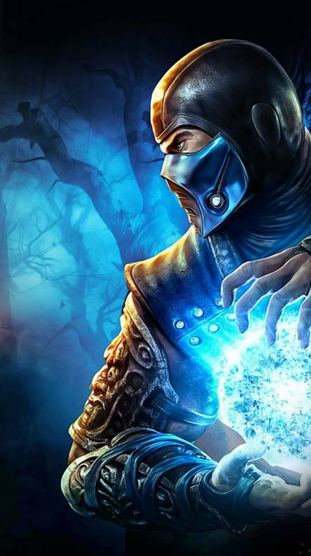 Mortal Kombat 11 Sub Zero Iphone Wallpaper Wallpaper Hd For Android