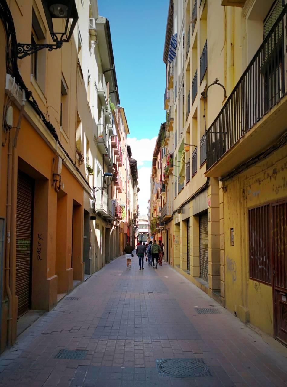 Zaragoza street