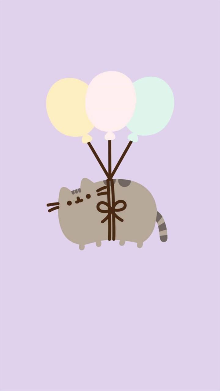 Pusheen Balloons