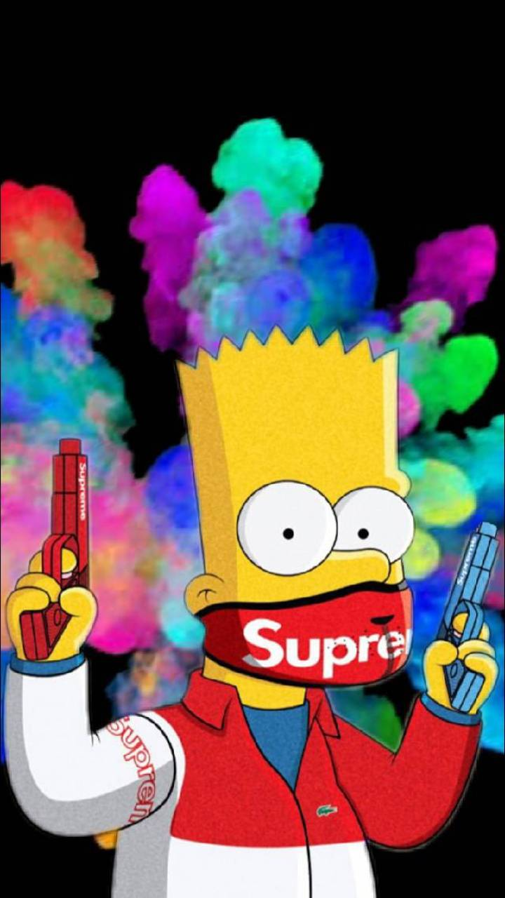 Supreme Bart Wallpaper By Philipjfry18 85 Free On Zedge