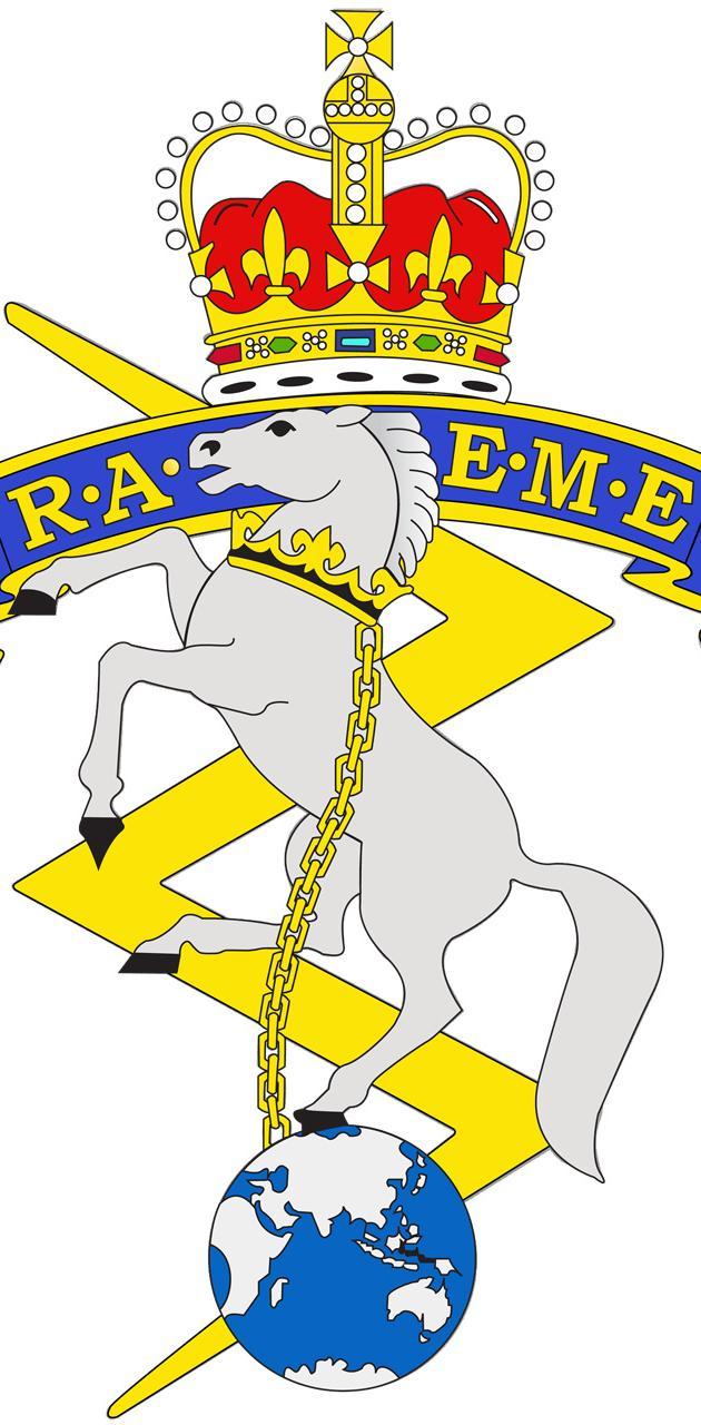RAEME badge