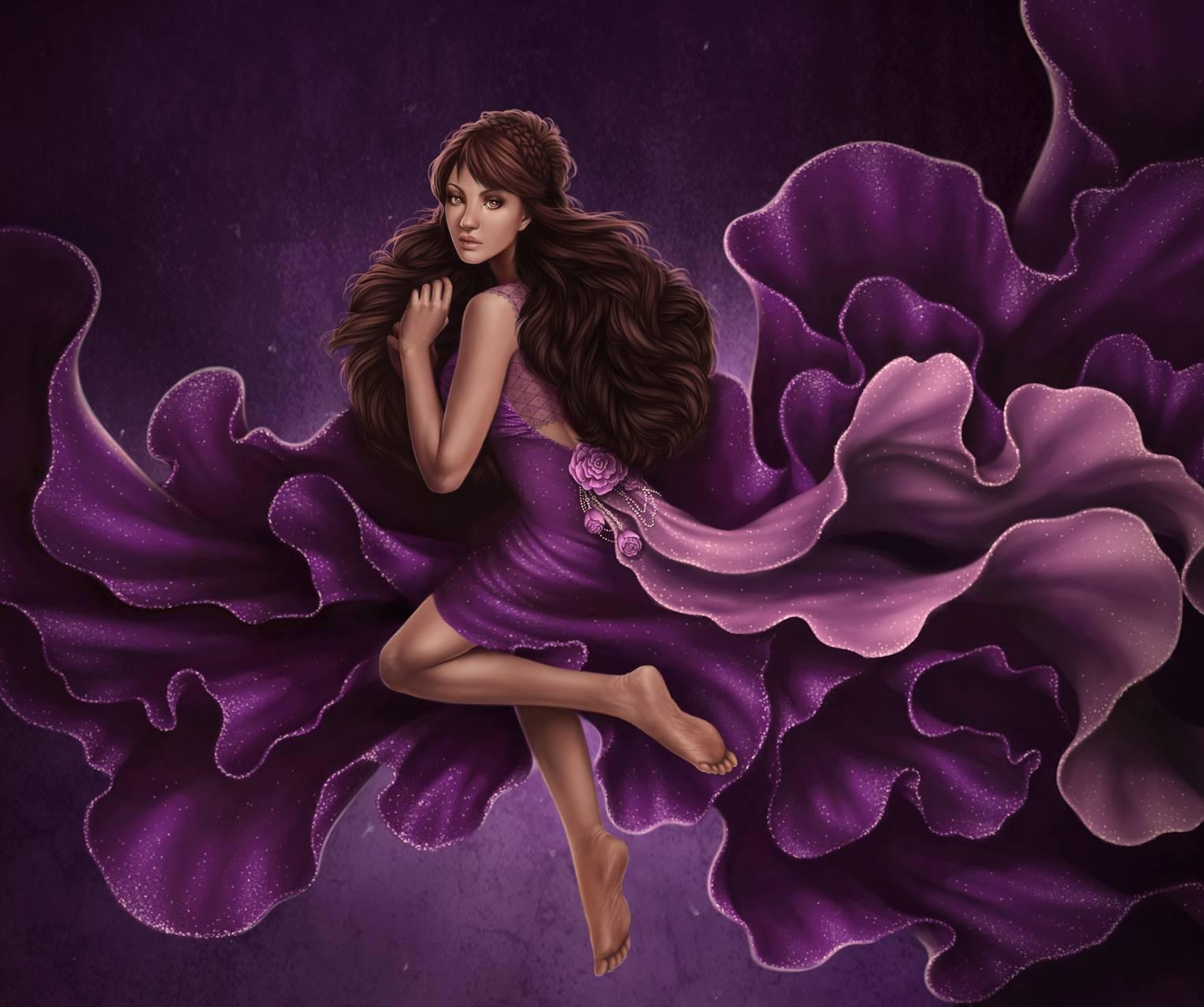 Purple Lady