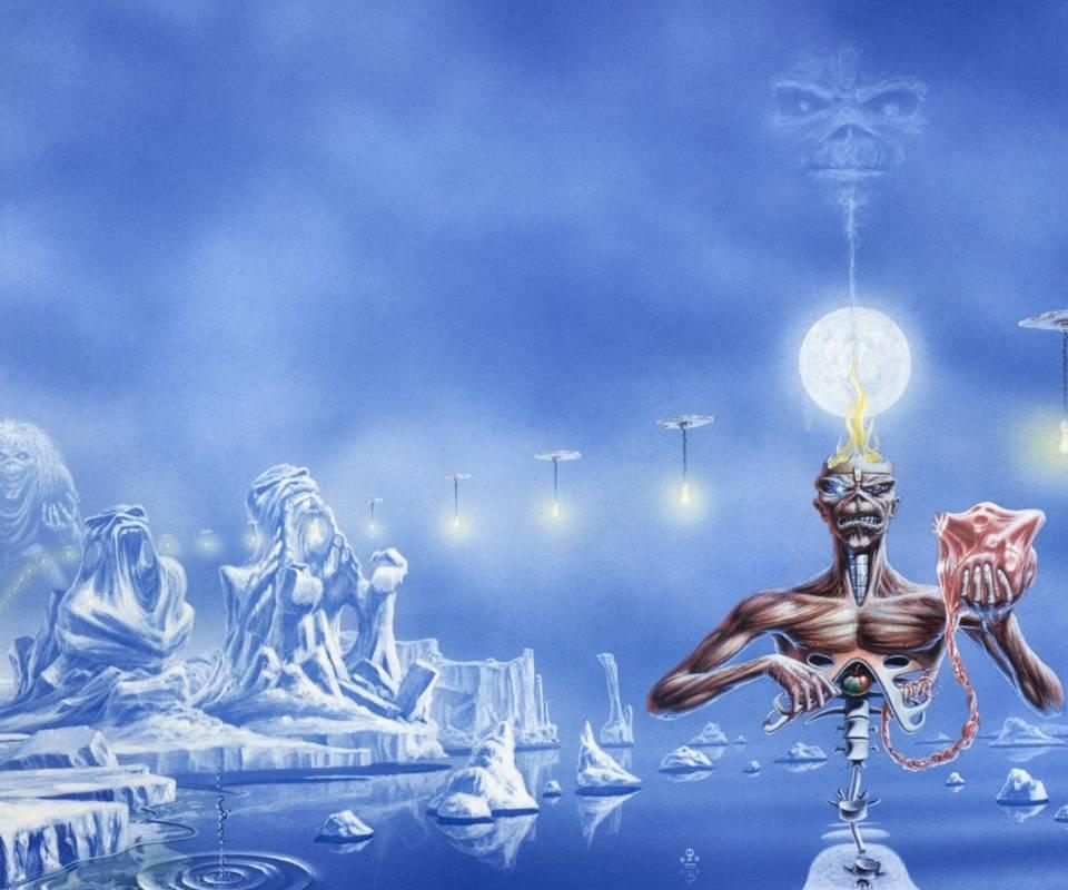 Wallpaper Iphone Iron Maiden: Seventh Son Wallpaper By Gstobb