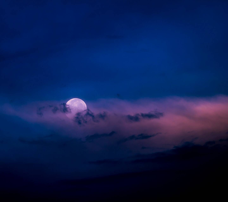 Cloudy Moonlight