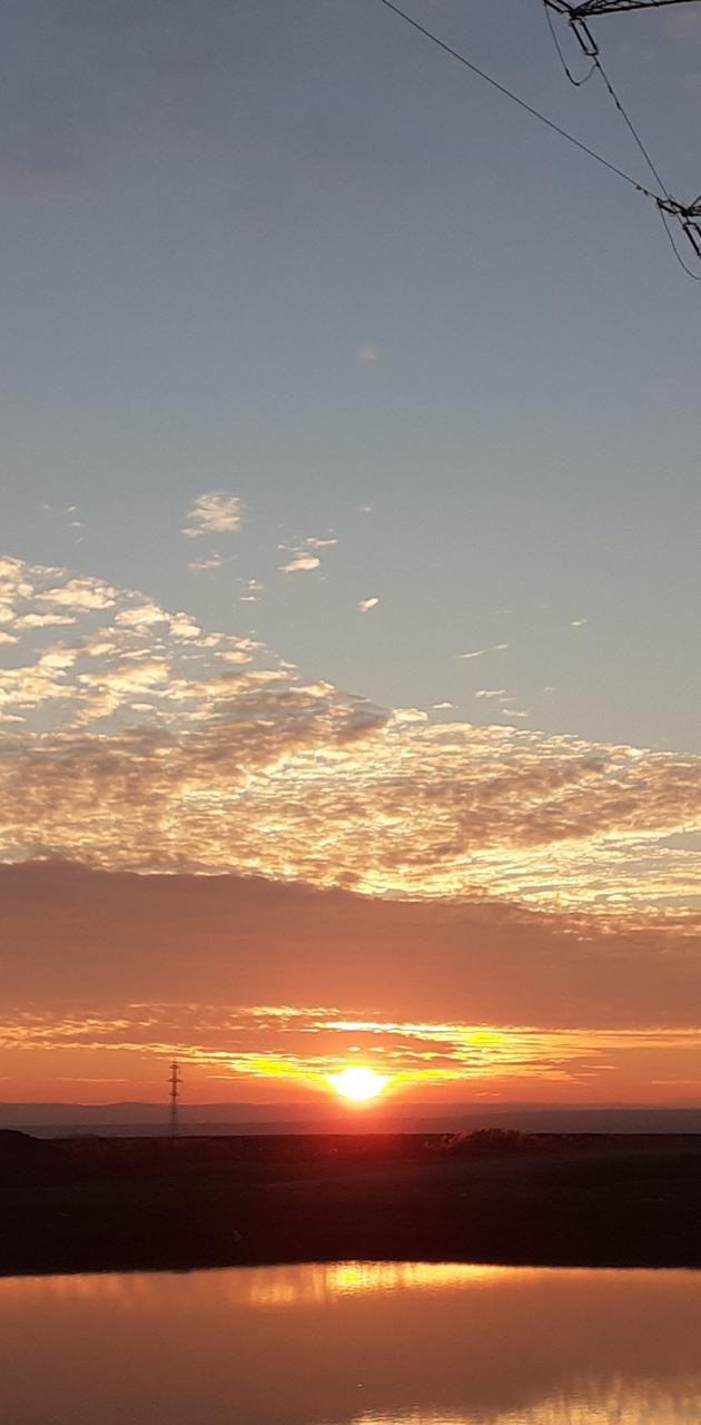 Romania sunset