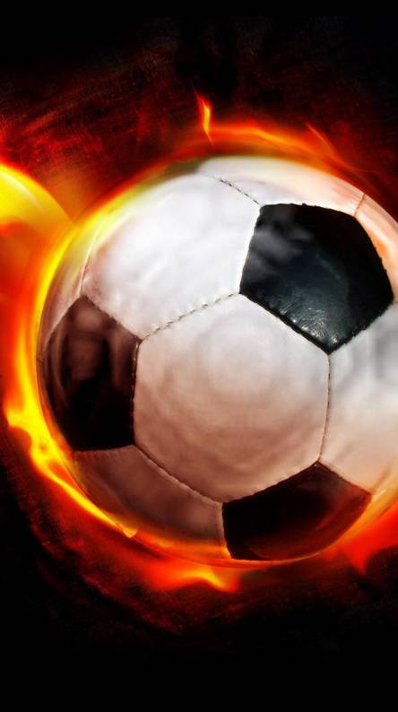 Burning FootBall