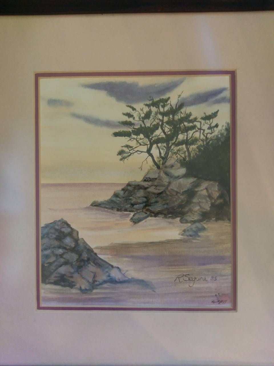 Japanese sea scape