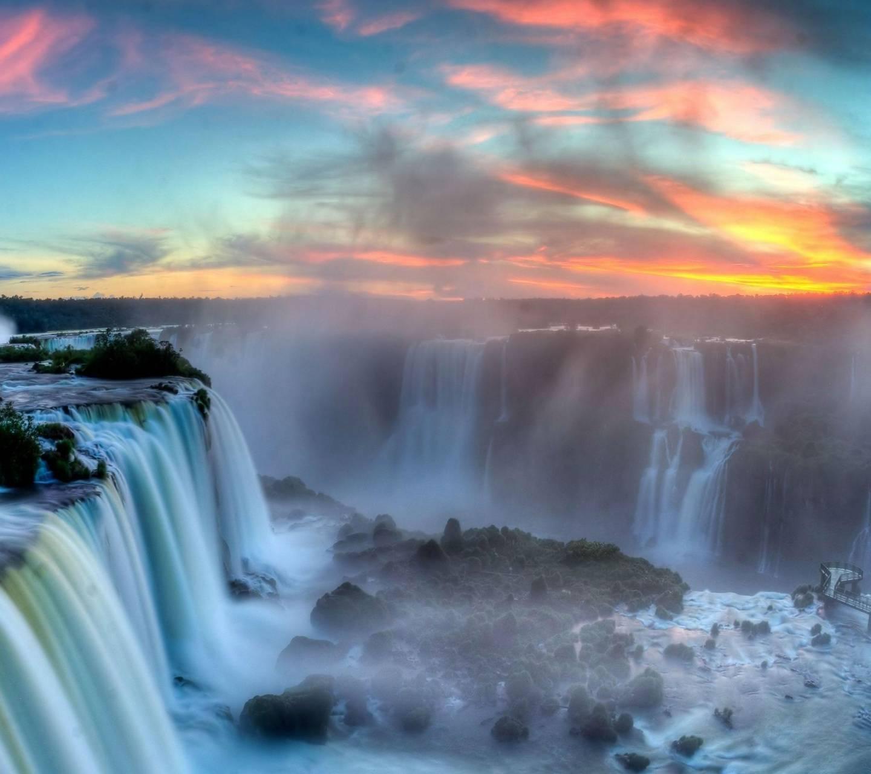 Colorful Falls Hd