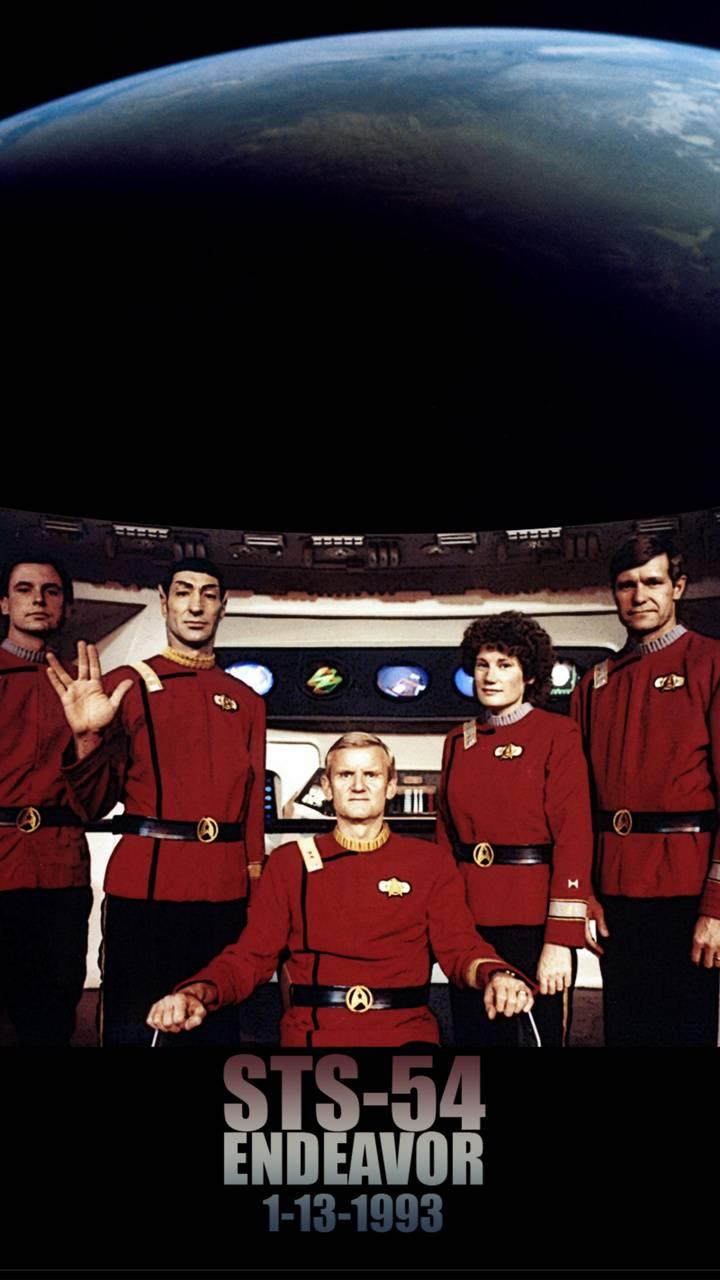 STS-54 Trekkies