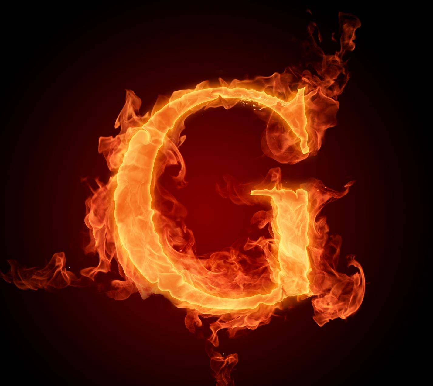 Letter G In Fire Hd Wallpaper By Mrlazy Bf Free On Zedge