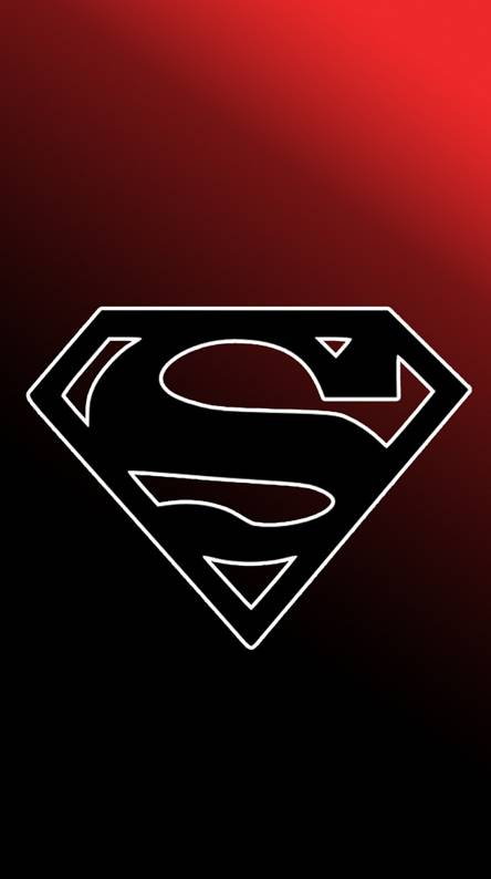 Superman Black Logo