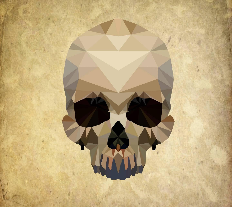 skull lowpoly