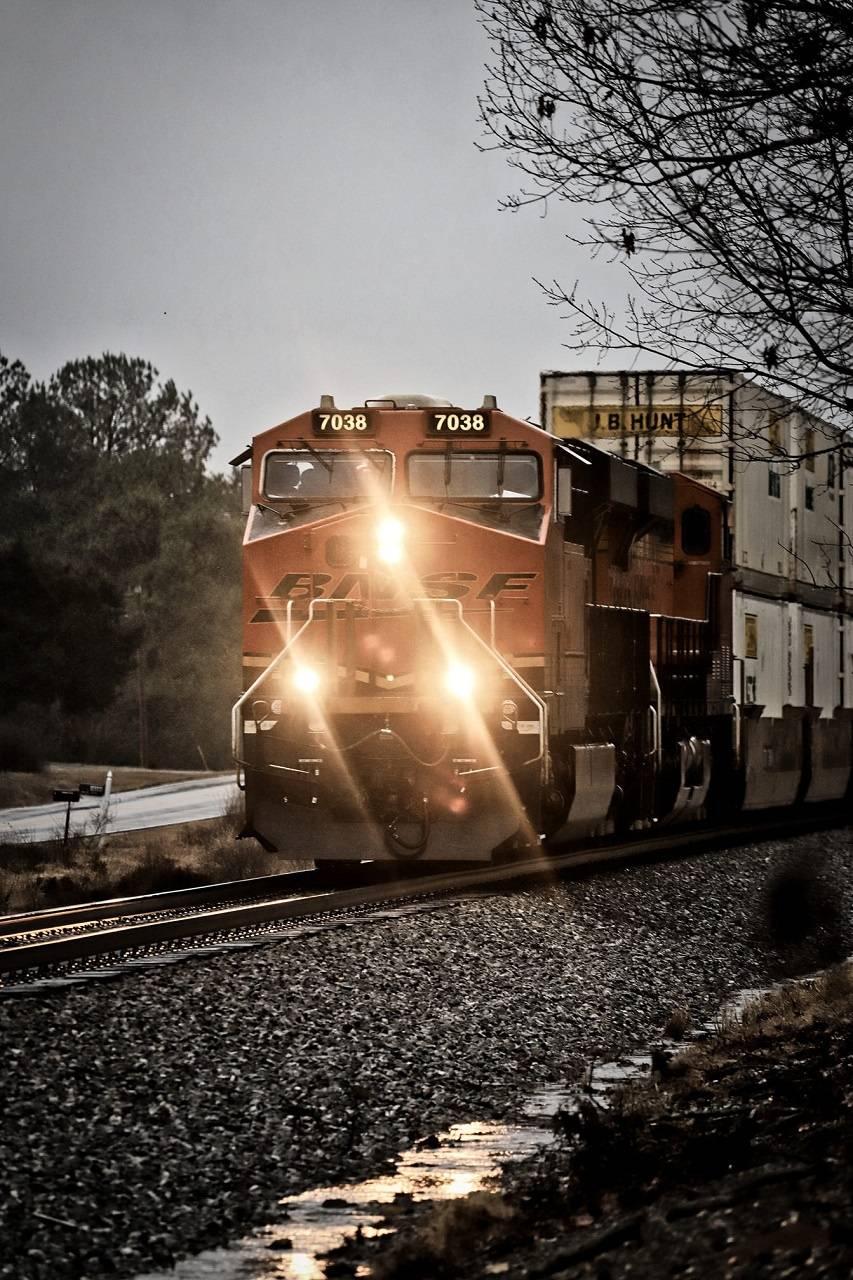 BNSF Railroad 7038