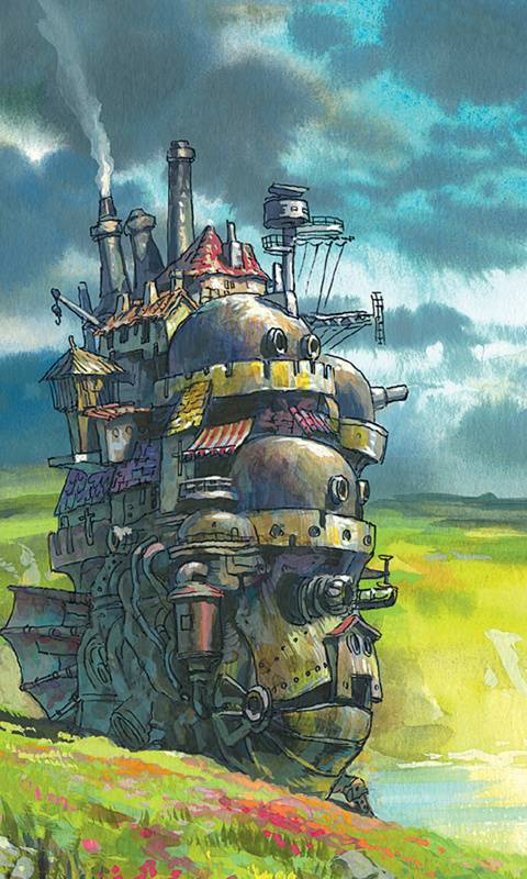 Howls Moving Castle Wallpaper By PoobaRiot