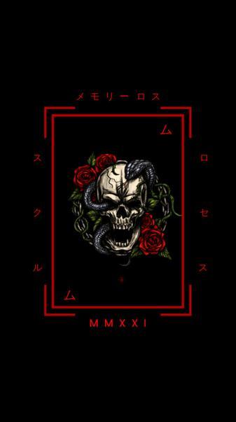 Japanese Skull Roses