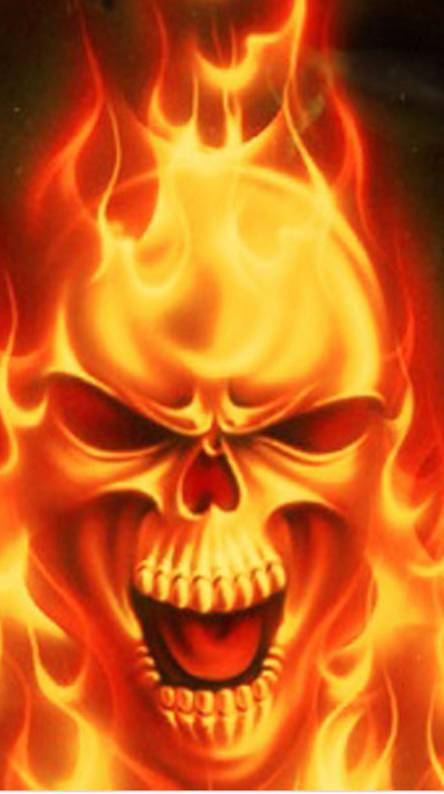 Fire Skull Wallpapers Free By Zedge
