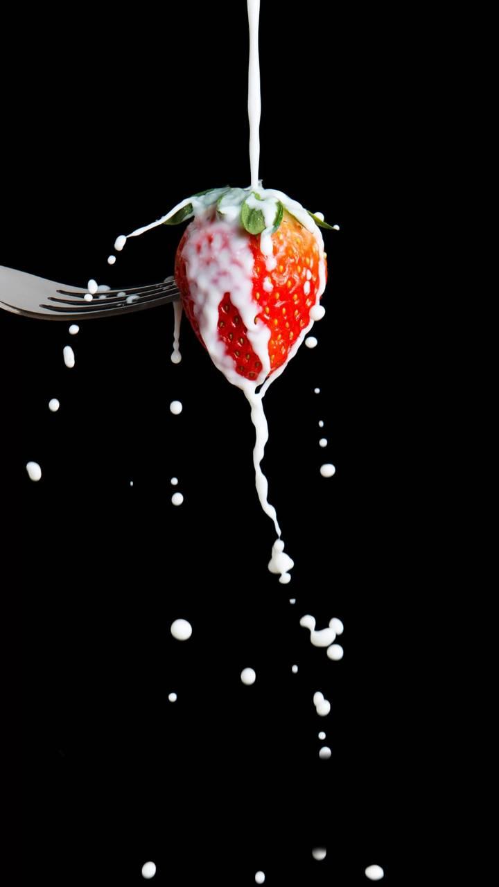 creamy strawberry