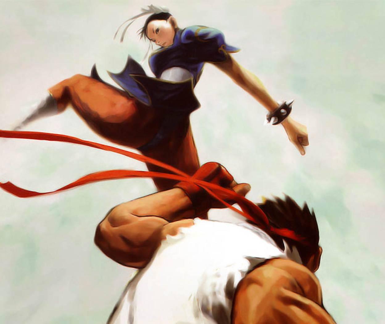 Chun Li Vs Ryu