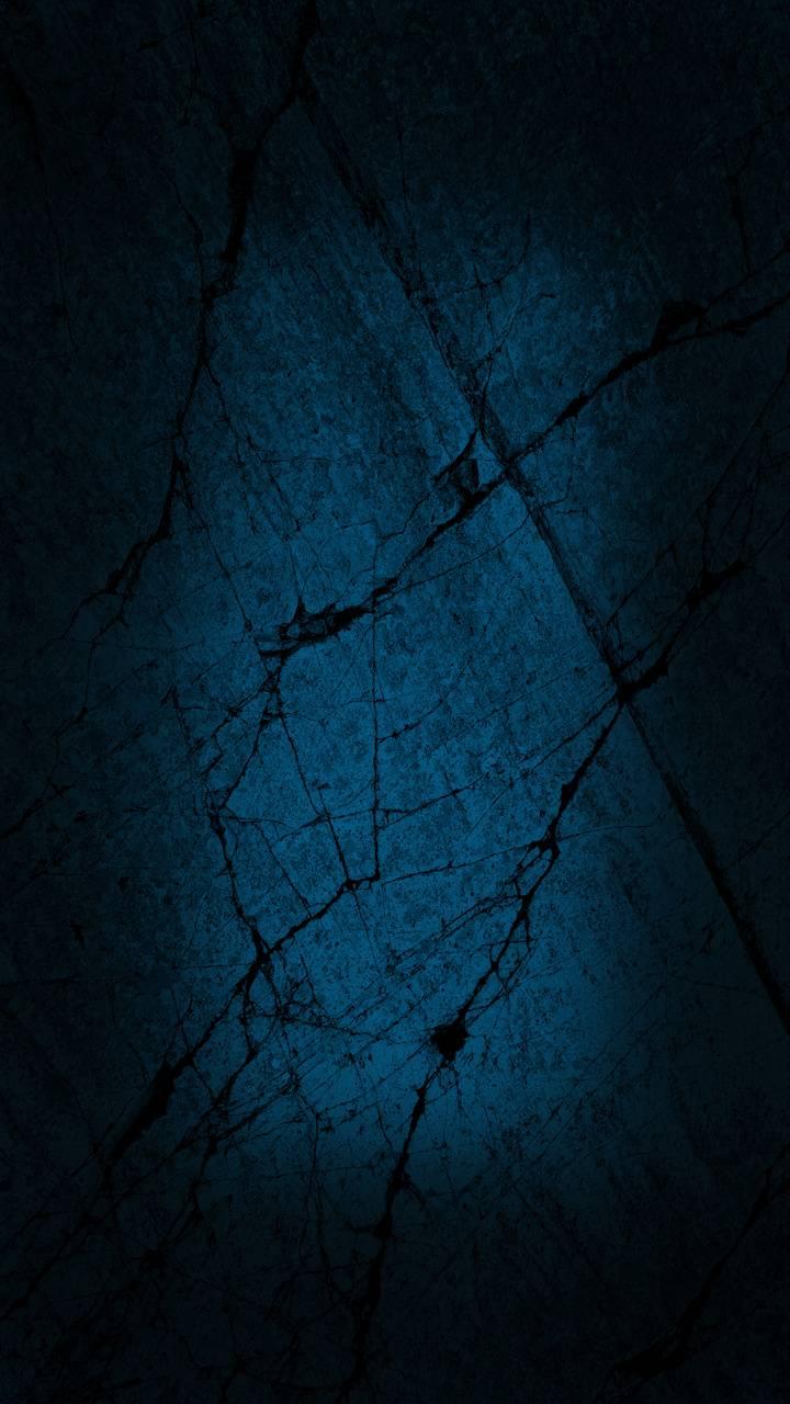 Blue Cracked Stones