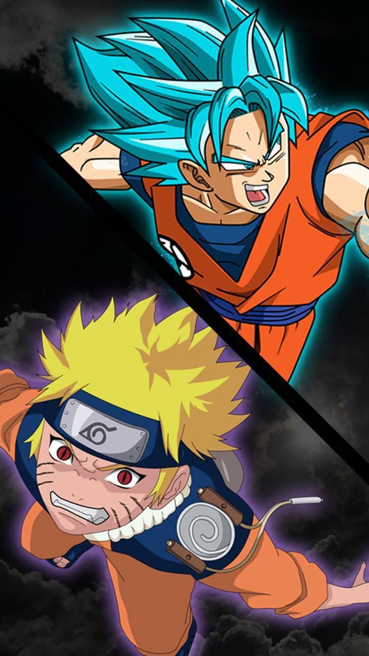 Goku and naruto