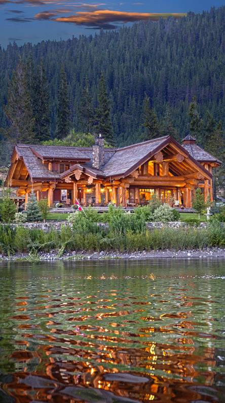 Log Cabin Wallpapers Free By Zedge