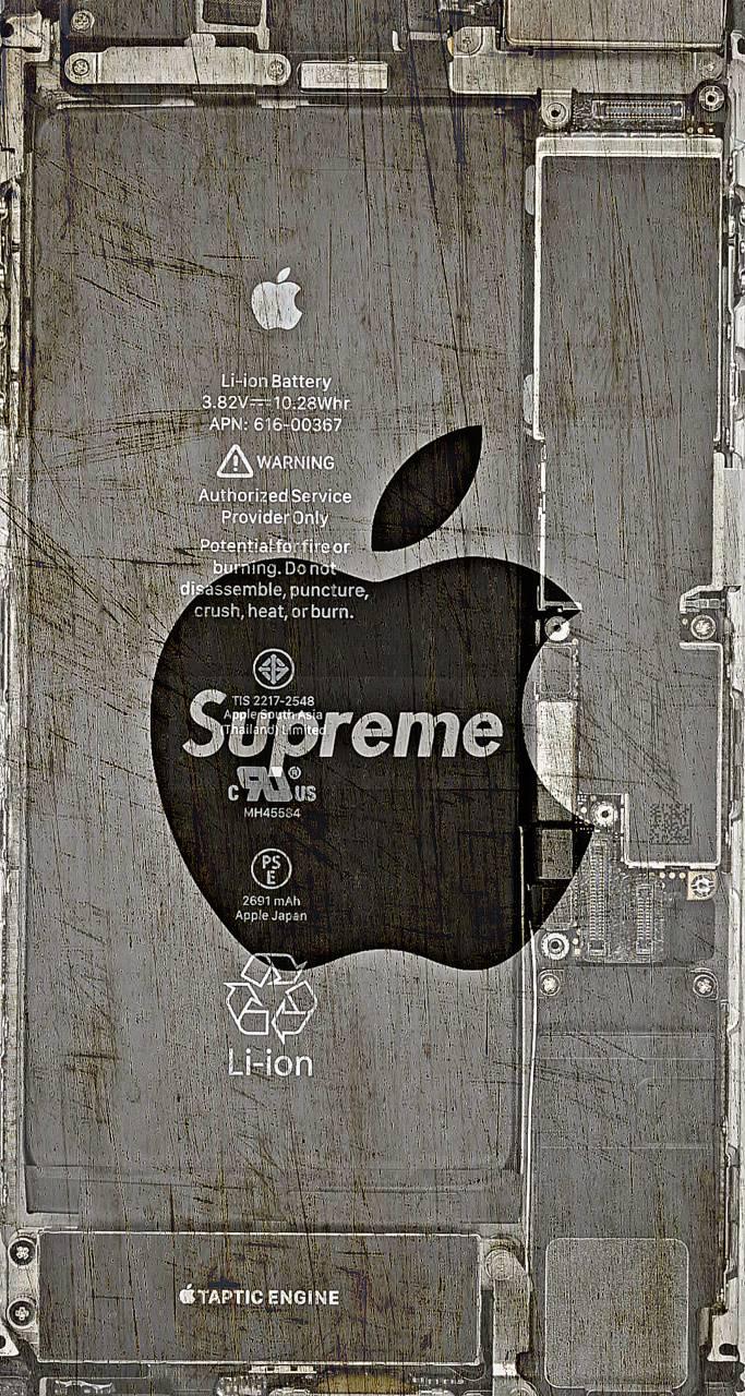 Supreme apple
