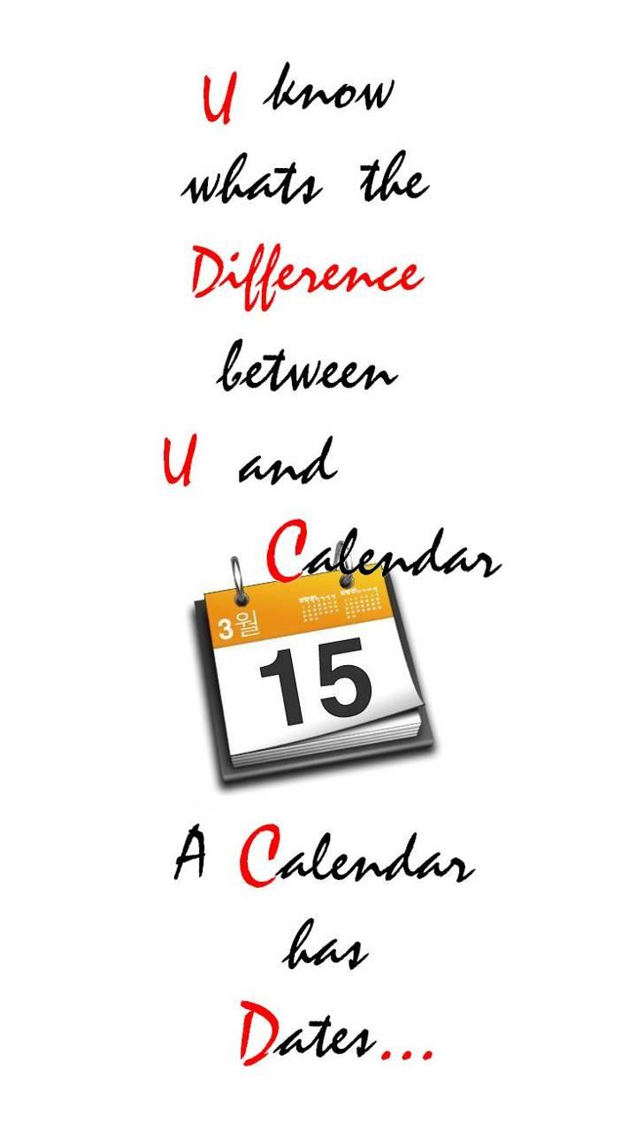 You And Calendar