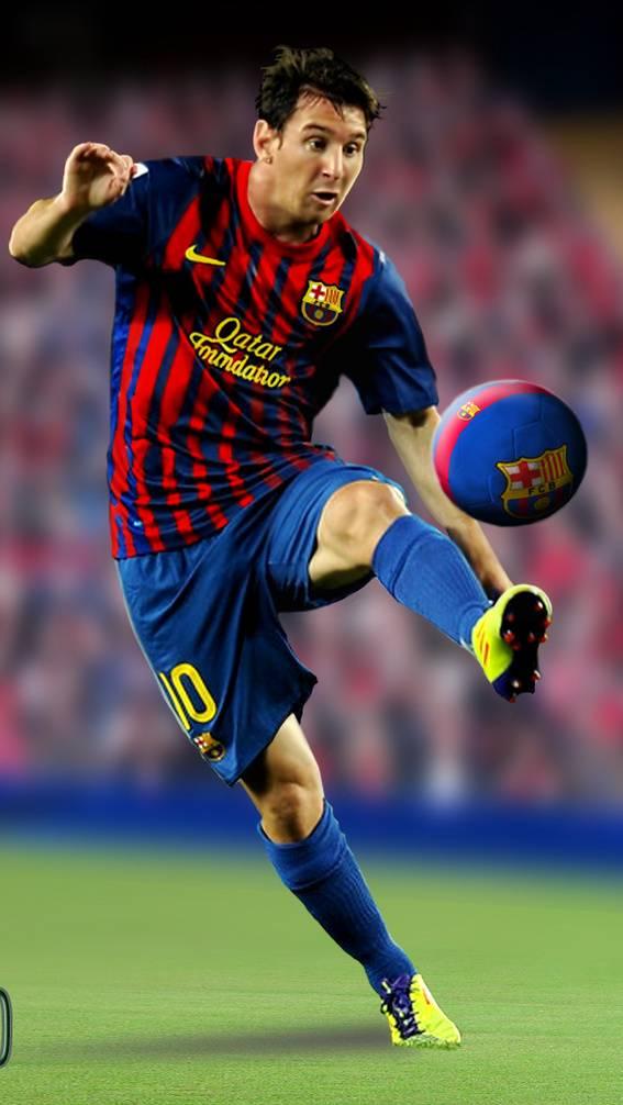Messi 3d