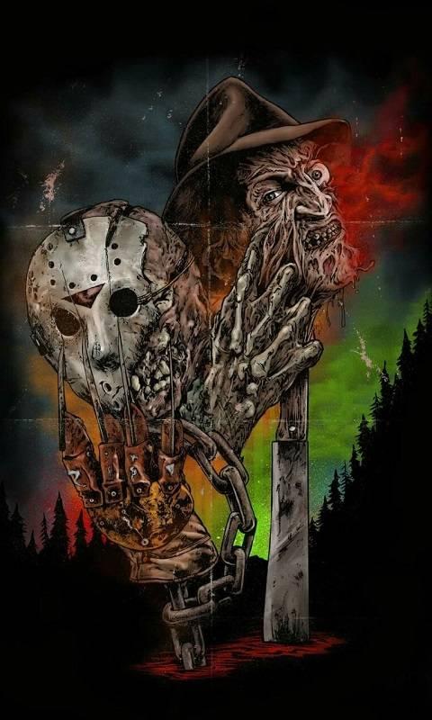 Freddy Vs Jason Wallpaper By Gemini90mex