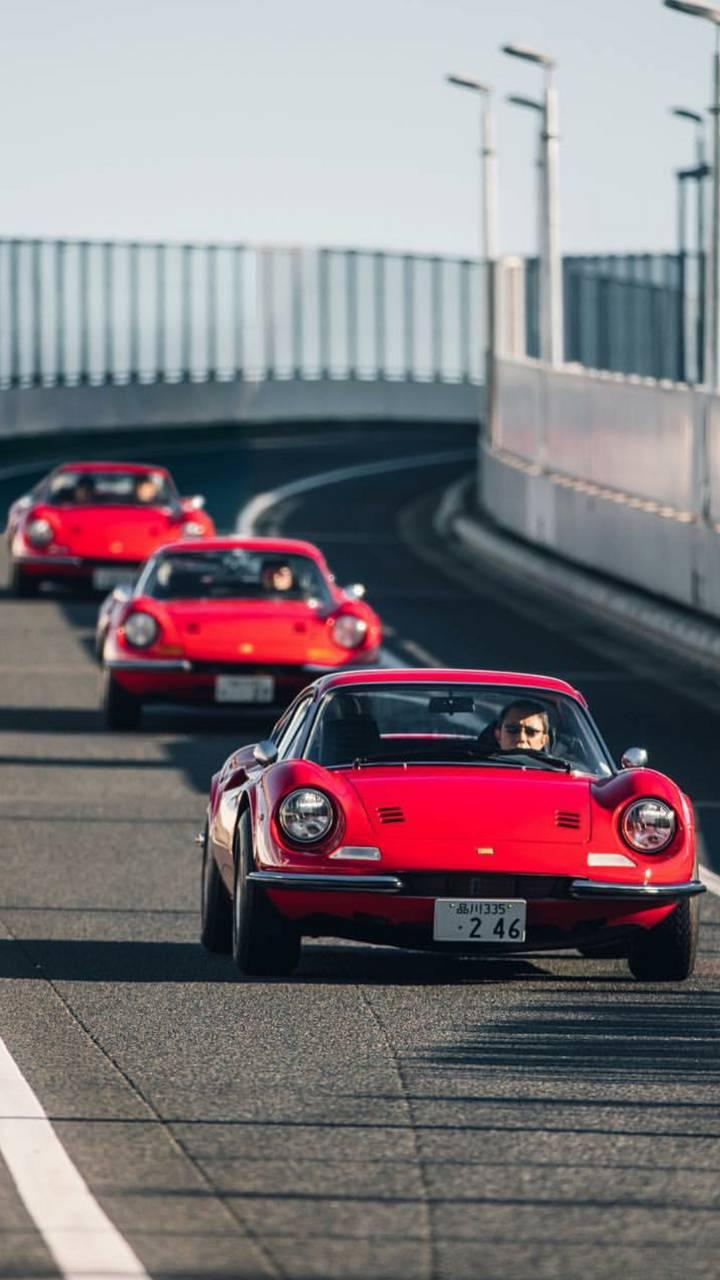 Classic Ferrari Trio