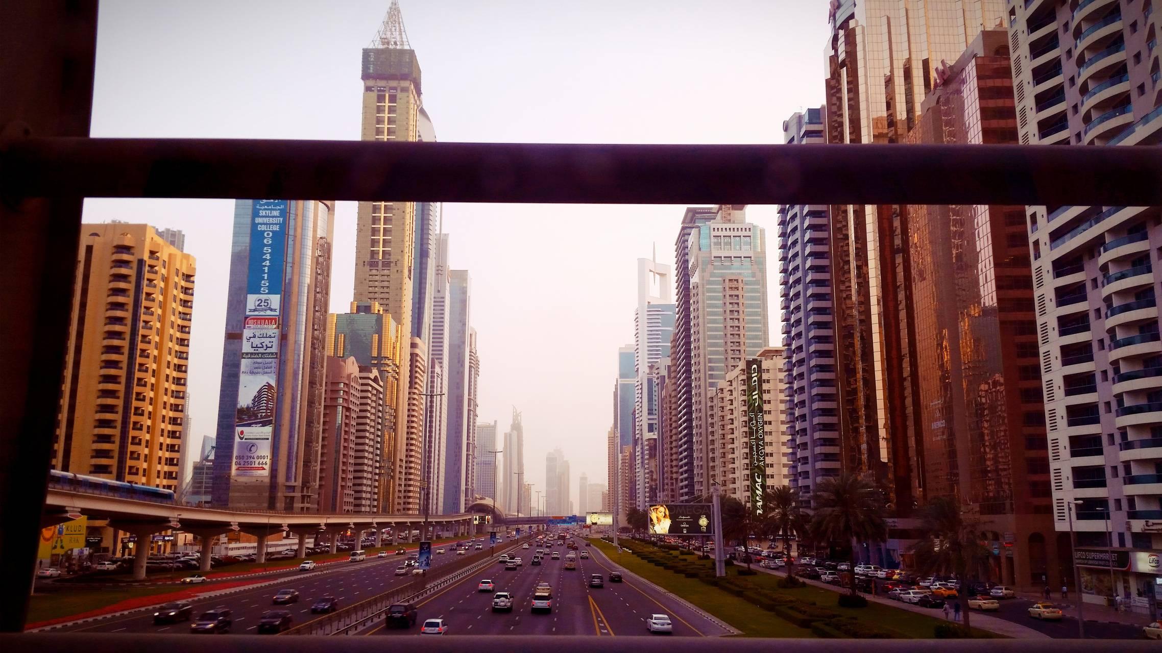 Shaikh Zyed Road