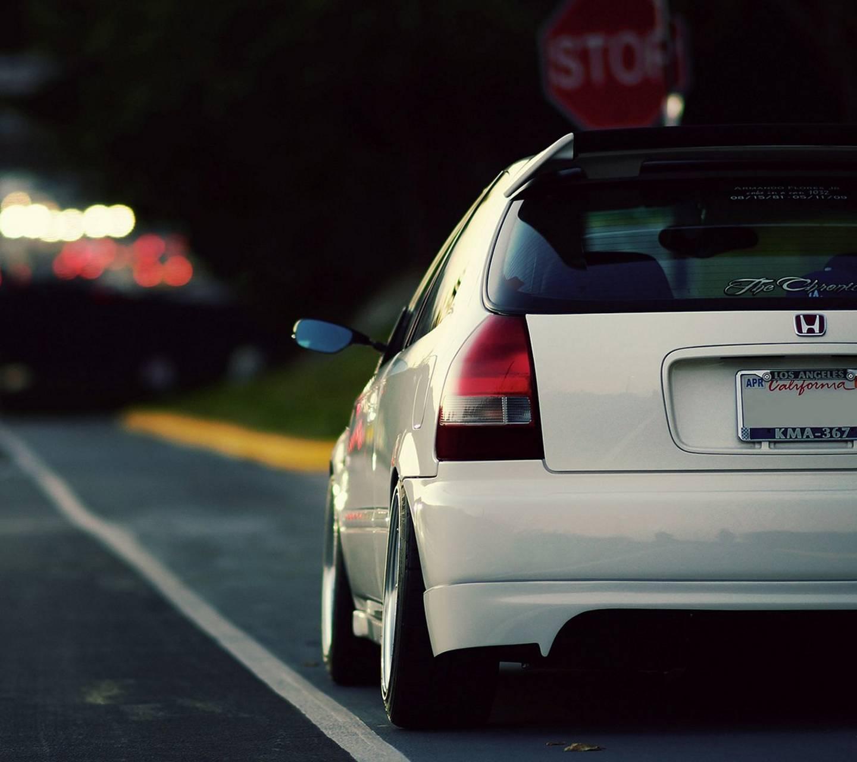 Honda Civic back