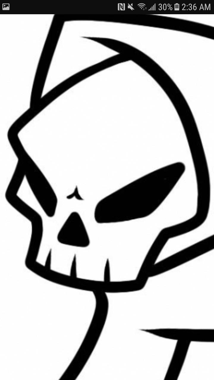 Skull dude