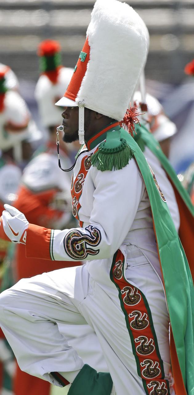 FAMU Drum Major