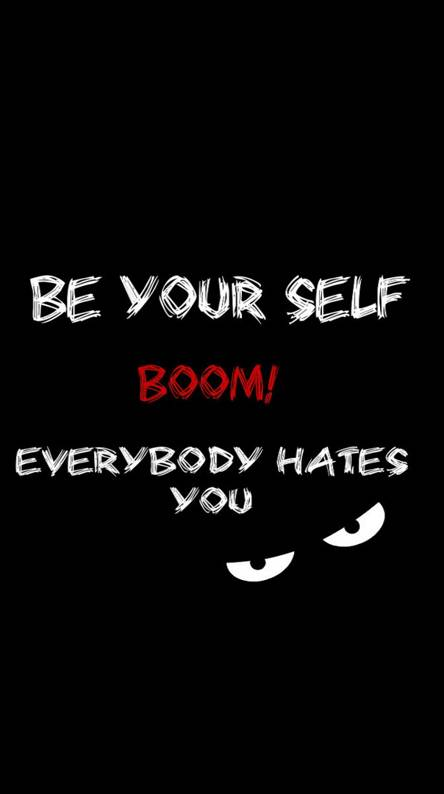Be your self