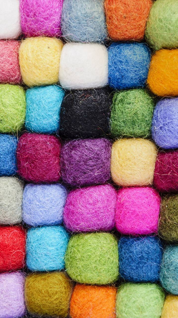 Wool Colorful