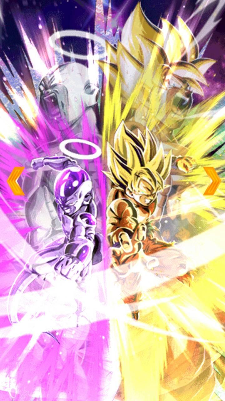 Goku and freeza