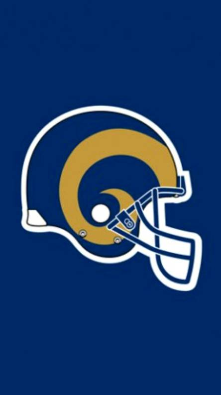 New LA Rams. RAM helmet