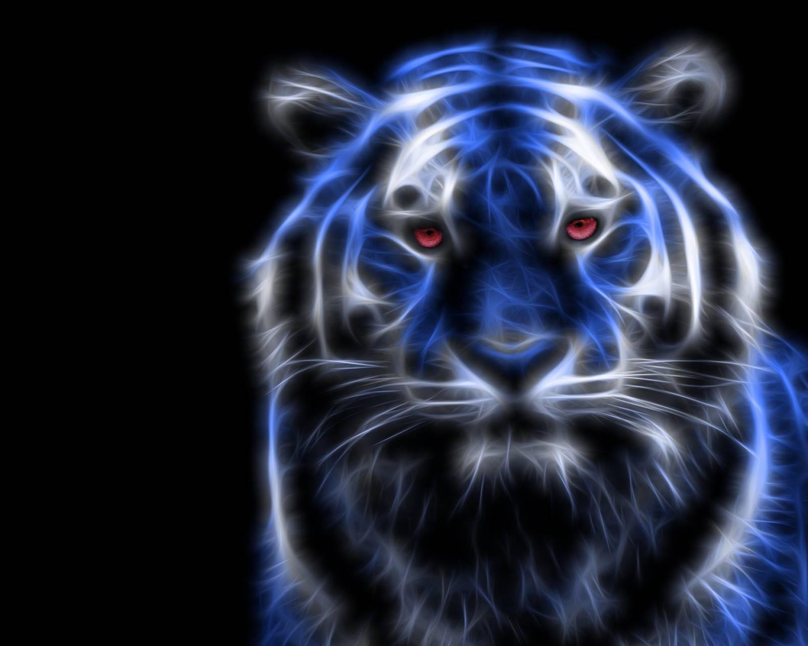 blue tiger fractal