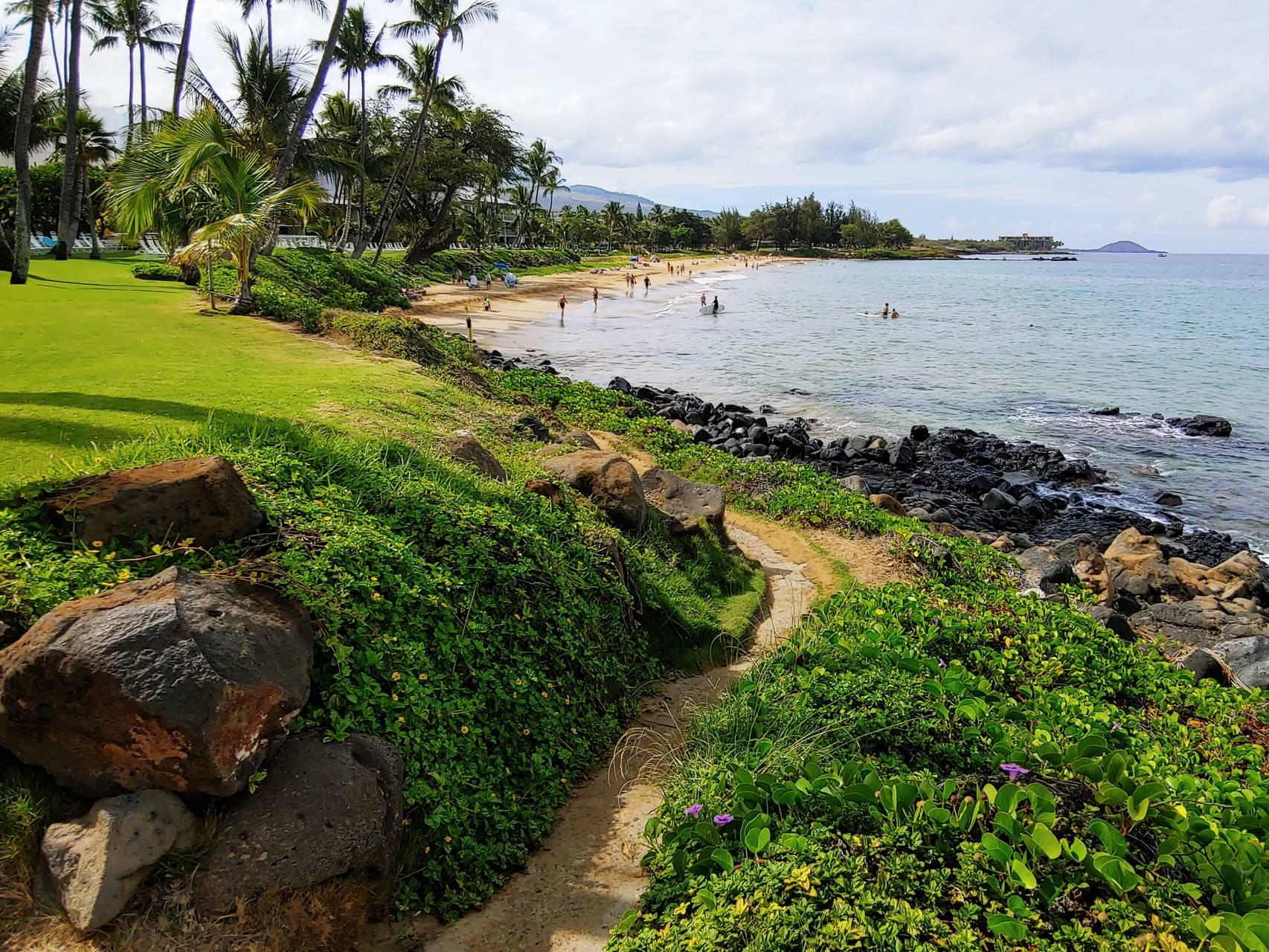 Maui path to beach