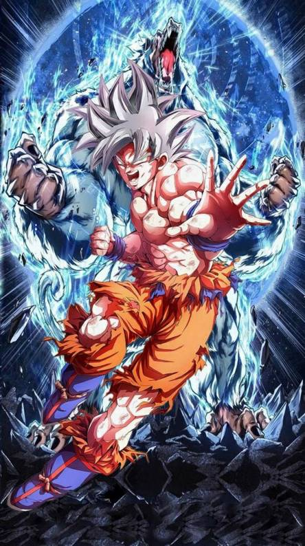 Goku upper instinct
