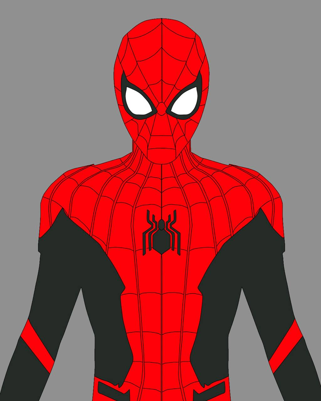 spiderman black and red - HD1024×1280