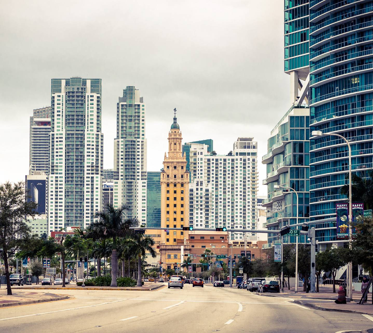Miami Downtown wallpaper by Sundukovs