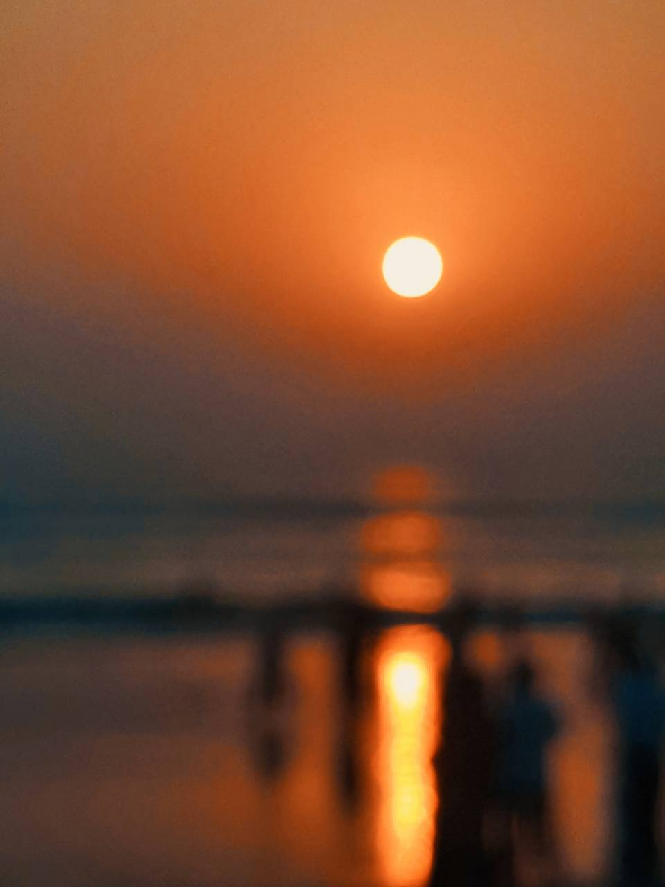 Sunset of Beach