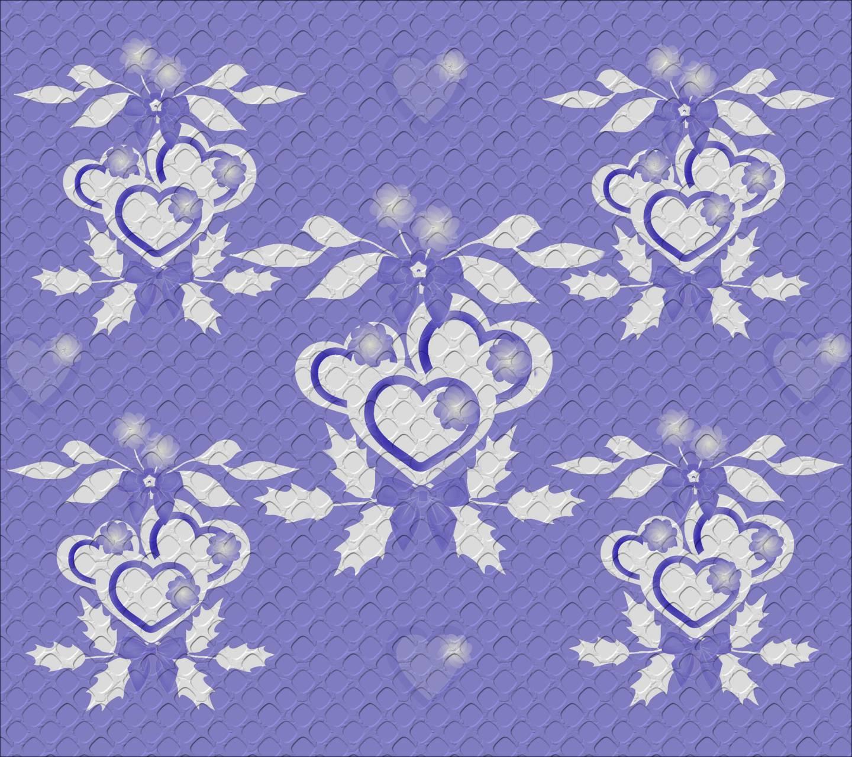 Blue hearts4